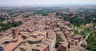 Siena desde la Torre del Mangia.