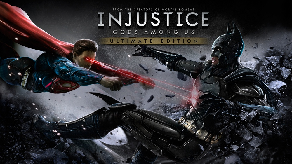 Injustice Gods Among Us Ultimate Edition PC Download Poster