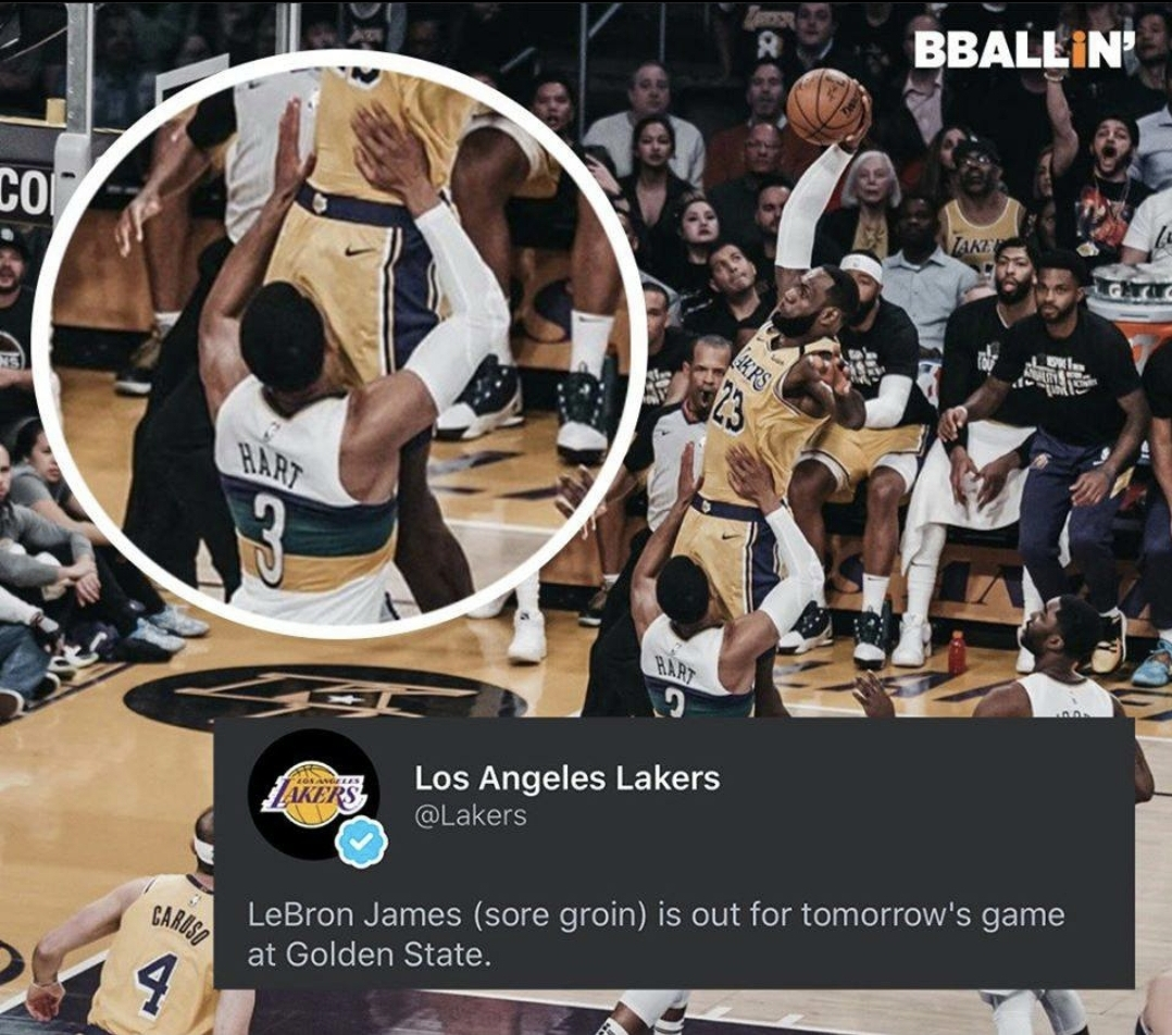 2/27/20 Game Day: Lakers vs Warriors, Blazers vs Pacers ...