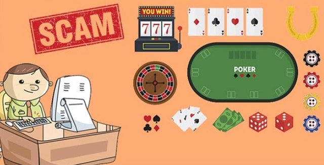 how to avoid online casino scams gambling website scammers unsecured apps
