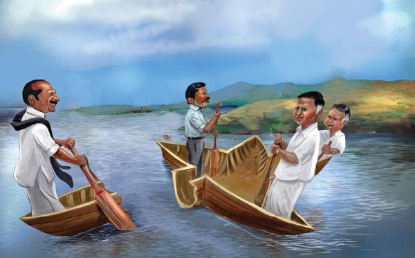 'செல்லாக்காசு'... விரிசல் விழுந்த ம.ந.கூ.