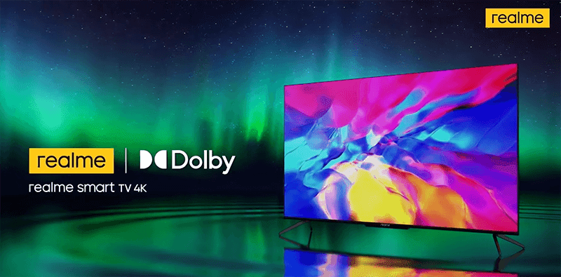 realme smart TV 4K series with Dolby Home Cinema now official in India