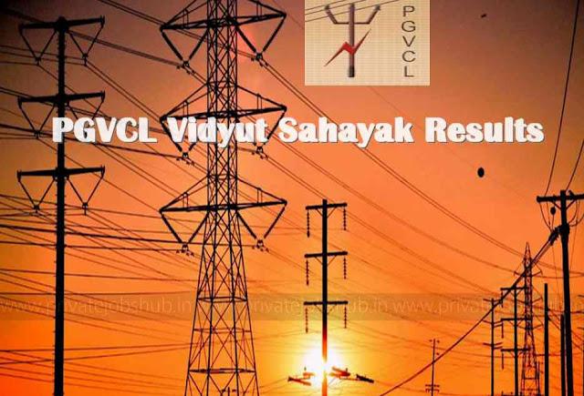 PGVCL Vidyut Sahayak Results