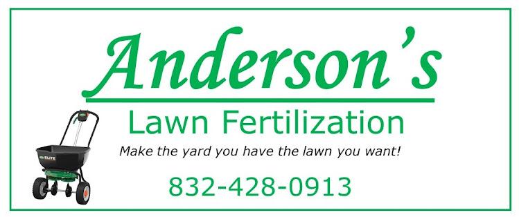 Anderson's Lawn Fertilization