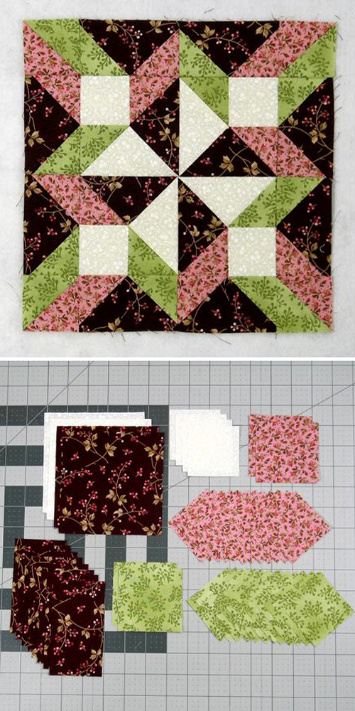 Hopscotch Quilt Block - Tutorial