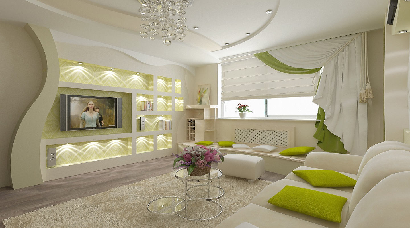 Best 70 modern living room interior designs, POP false ceiling ...