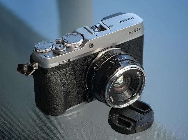 Pergear 25mm f1.8 Fujifilm X-E3