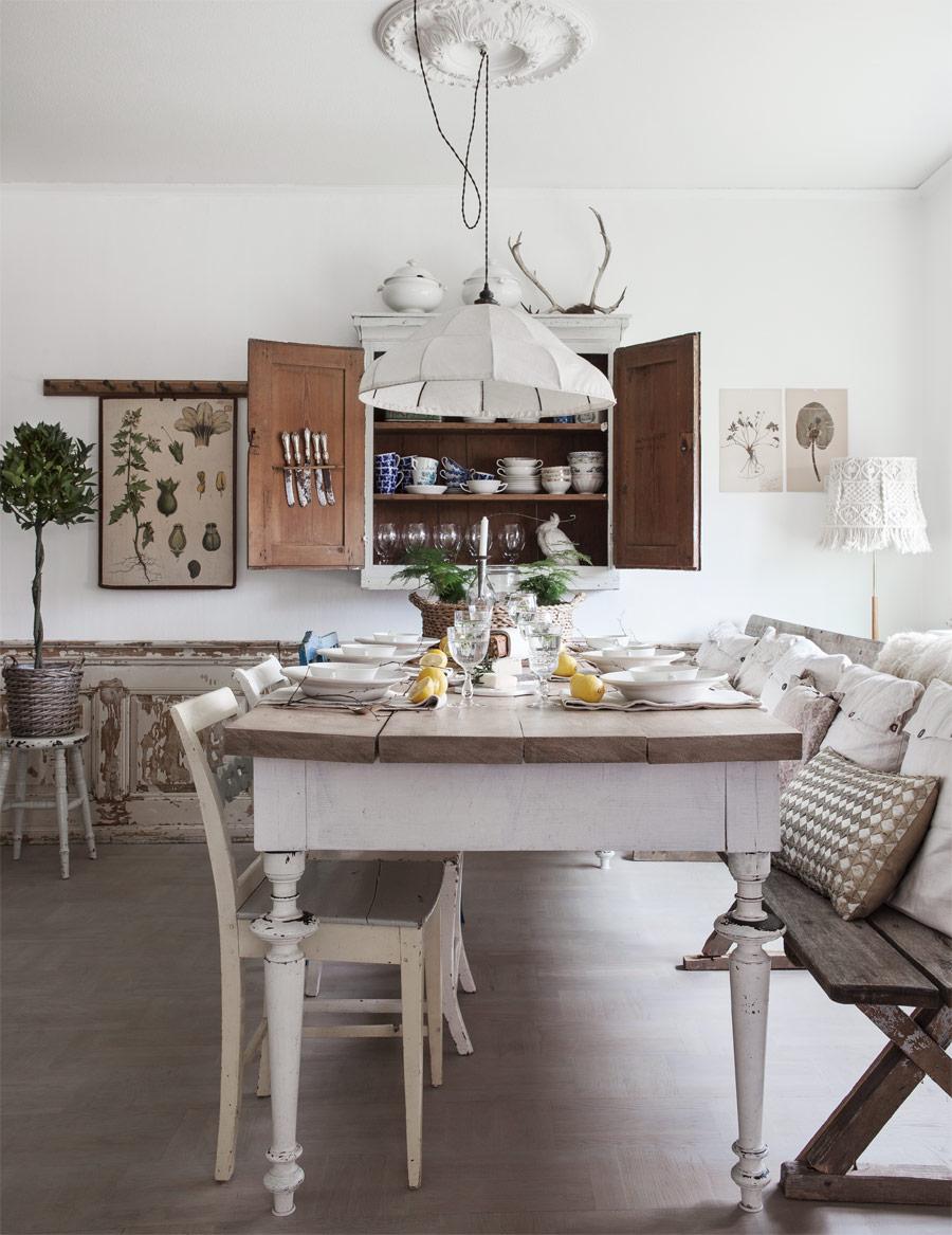 la petite fabrique de r ves chez sandra une cuisine shabby chic croquer. Black Bedroom Furniture Sets. Home Design Ideas