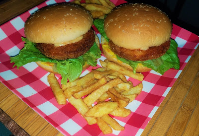 chicken burger recipe, chicken burger, chicken burger patty, crispy chicken burger recipe