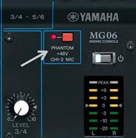 phantom power input