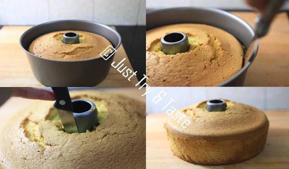 Pandan Chiffon Cake Resep