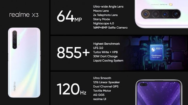 ريلمي تعلن رسميا عن الهاتف Realme X3