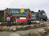 Familia chilena llegó a Alaska en una Metalpar Llaima Mercedes Benz LO-708E