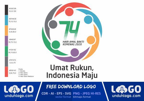 Logo HAB Kemenag 74 Tahun 2020