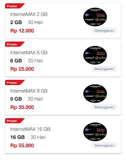 Paket Internet Murah Telkomsel 12 Ribu dapat Kuota 2GB - 70GB