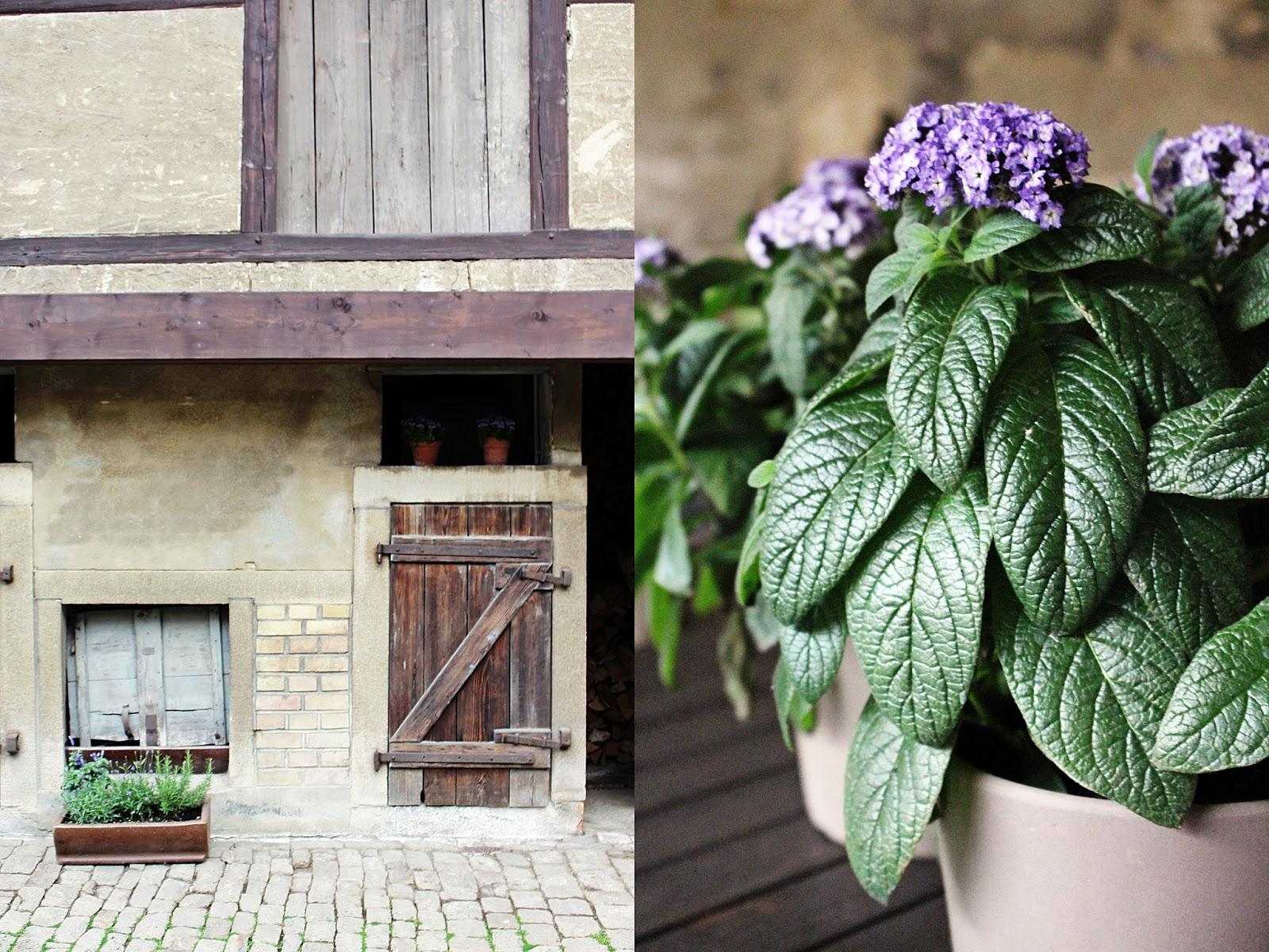 Innenhof und Details