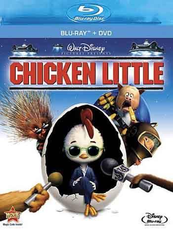 Chicken Little 2005 480p 250MB BRRip Dual Audio [Hindi - English]