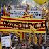 Καταλονία: Τουλάχιστον 750.000 άνθρωποι στους δρόμους της Βαρκελώνης - Ογκώδης διαδήλωση υπέρ της αποφυλάκισης των αυτονομιστών ηγετών