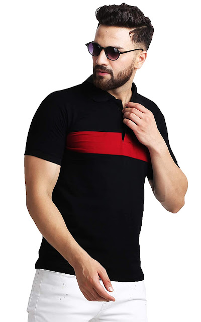 Leotude Men's Regular Fit Polos