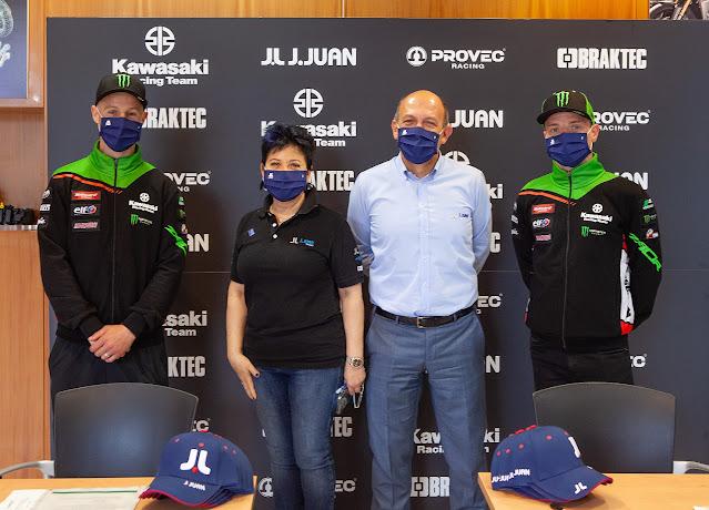 Kawasaki Racing Team and Juan