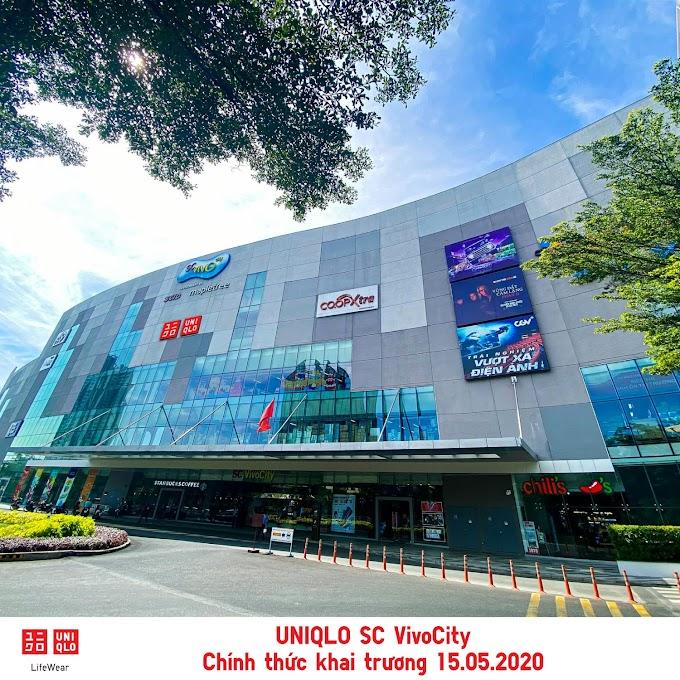 Cửa hàng UNIQLO SC VivoCity thứ 2 tại TPHCM có gì hấp dẫn?