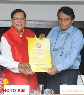 Dr. Bindeshwar Pathak: Appointed as the  Brand Ambassador for Swachh Rail Mission