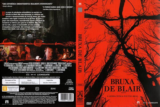 Capa DVD Bruxa De Blair (2016)