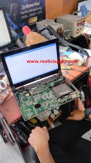 Service Laptop Asus N43S Mati Total