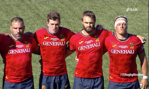 Baltazar Taibo sumó minutos con la selección española