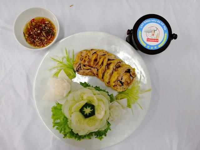 Tuyển sinh trung câp nấu ăn năm 2020 tại Thái Bình