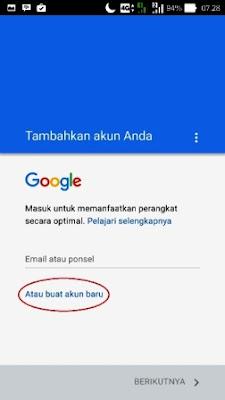 Cara Membuat Gmail dari Smartphone / handphone