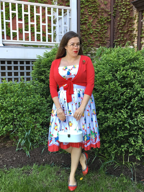 retrospecd fruit basket dress