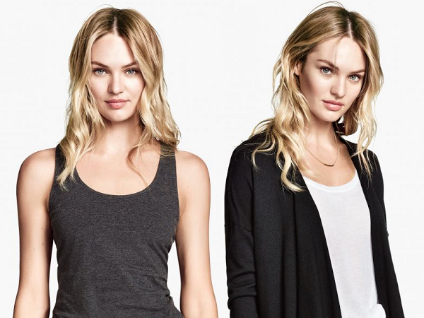 Candice Swanepoel – H&M - Lookbook  2014