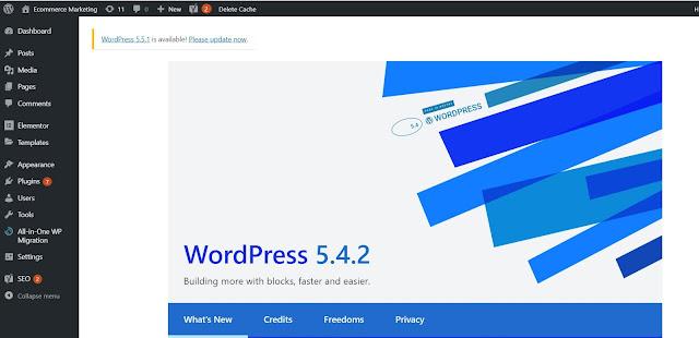 Seguidamente vamos al panel administrativo de nuestro sitio web de Wordpress, que debería ser algo parecido a este: www.mistio.com/wp-admin y te logeas con tu usuario y contraseña.