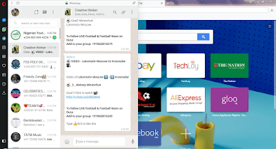how to setup whatsapp on opera web browser