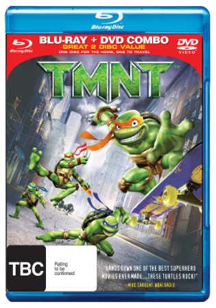 TMNT 2007 BRRip 280Mb Hindi Dual Audio 480p ESub Watch Online Full Movie Download bolly4u