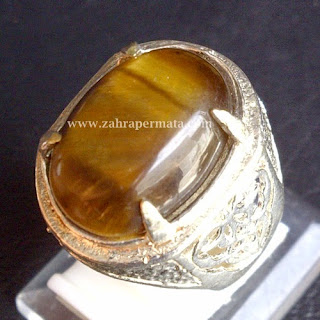 Cincin Batu Permata Tiger Eye - ZP 390