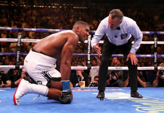 Tyson Fury claims Anthony Joshua is 'finished'