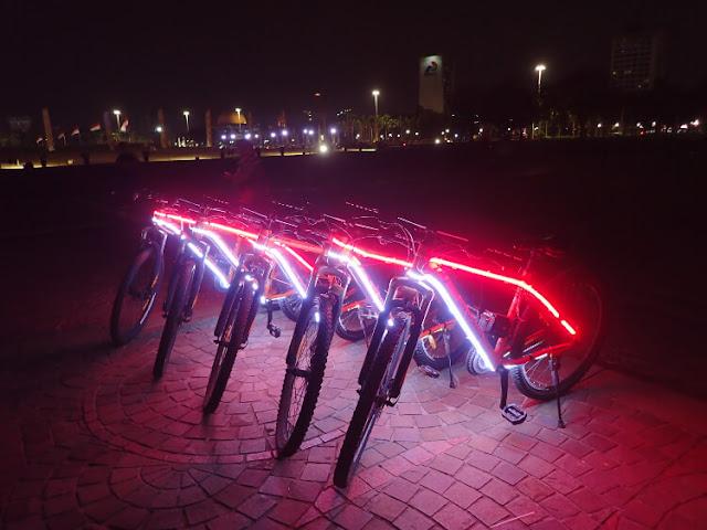 penyewaan sepeda monas