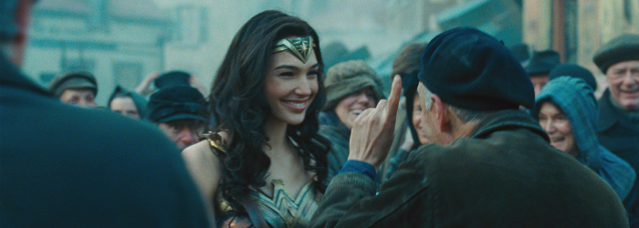Gal Gadot shines as Wonder Woman.