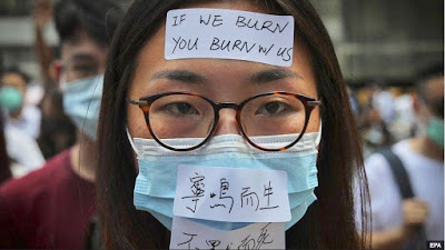 Hong Kong Protest - Anti-Mask law won't work