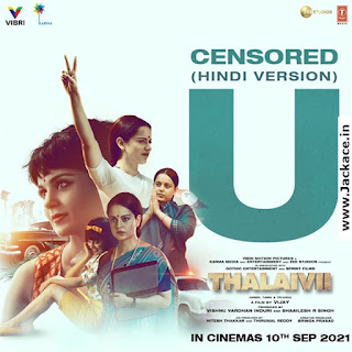 Thalaivi First Look Poster 7