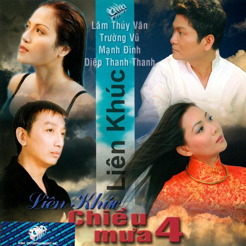 AsiaCD184 - Liên Khúc Chiều Mưa 4 (NRG) + bìa scan mới