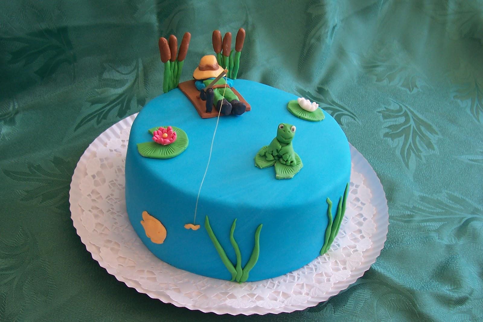 horgászos szülinapi képek Anyatigris tortái: HORGÁSZOS TORTA horgászos szülinapi képek