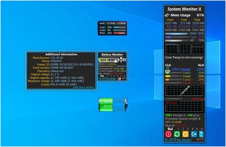 8GadgetPack : Η καλύτερη δωρεάν συλλογή  Gadget για  τα Windows