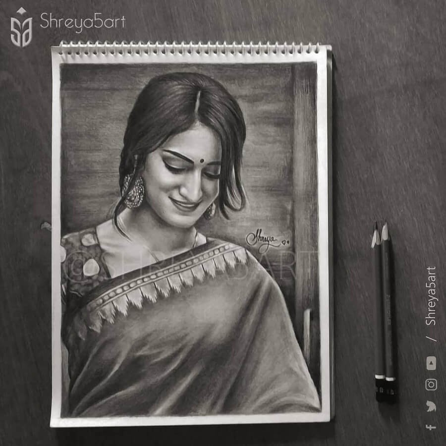 08-Indian-Clothing-Drawing-Shreya-www-designstack-co