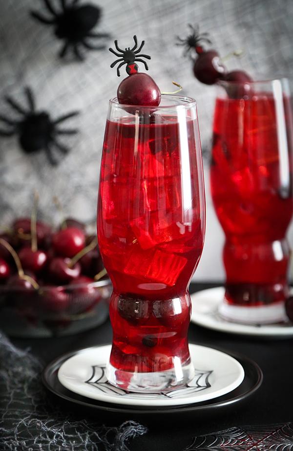 Black Cherry Stinger Cocktail