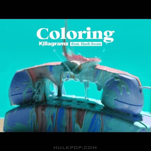 Killagramz – Coloring (Feat. Hash Swan) – Single