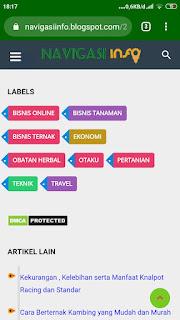 Label blog keren