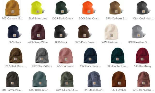 Carhartt Unisex Watch Acrylic Hat A18, Black, One Size